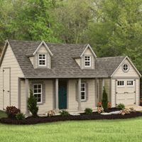 Carriage House Playhouse | garden playhouse | garden building | HomePlace Structures
