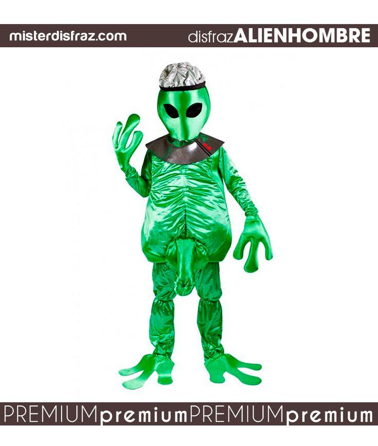Disfraz de Alien o Marciano Cachondo Hombre.  Venido de otro mundo te sentirás cuando te pongas este original y llamativo disfraz de Marciano.   #disfraz #disfraces #disfracesoriginales #disfracesdivertidos #disfracescachondos #disfracesgraciosos #disfrazhombre #disfrazaliencachondohombre #aliencachondohombre #carnaval #premium #disfracespremium #premiumoriginales #misterdisfraz