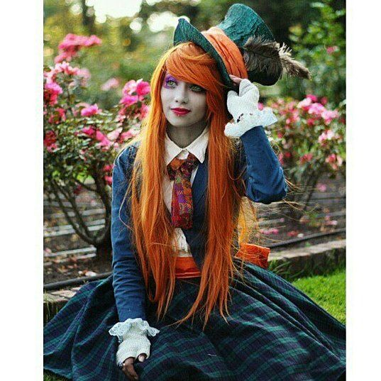 """I Knew who I was this morning but I've changed a few times since then."" -Mad Hatter Photo."
