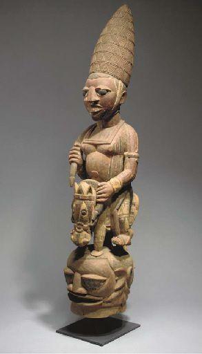Yoruba Epa (Jagunjagun) Helmet Mask, Nigeria http://www.imodara.com/post/103587853824/nigeria-yoruba-epa-ancestor-mask