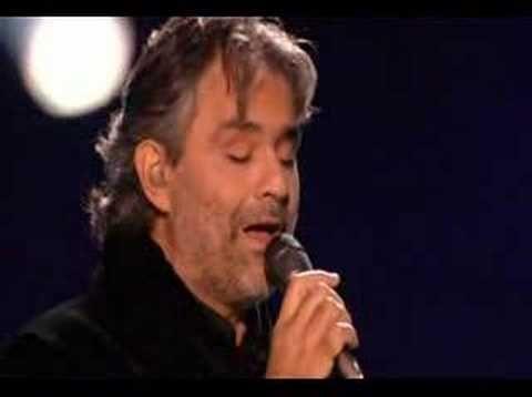 MI MANCHI - Andrea Bocelli  Mi manchi - I miss you