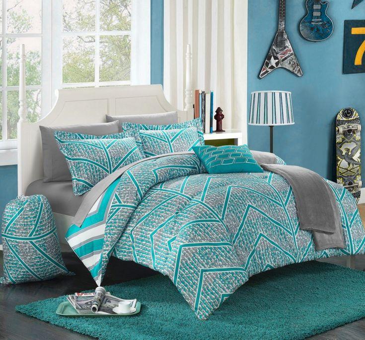 Chic Home Laredo 8Pc Twin XLong Comforter Set & Reviews