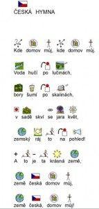 Česká hymna s obrázky