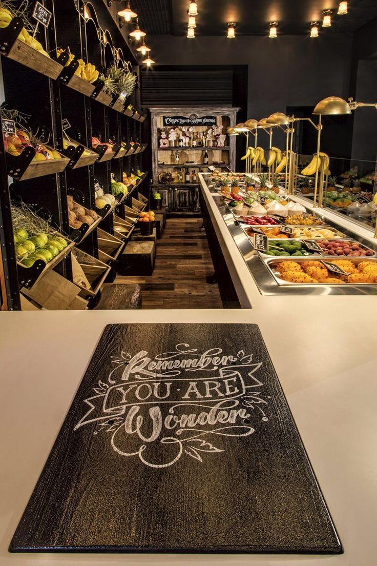 RAMBUTAN fruit studio: vintage fruit shop , Kiev, 2015 – Yaroslav Galant innovat…