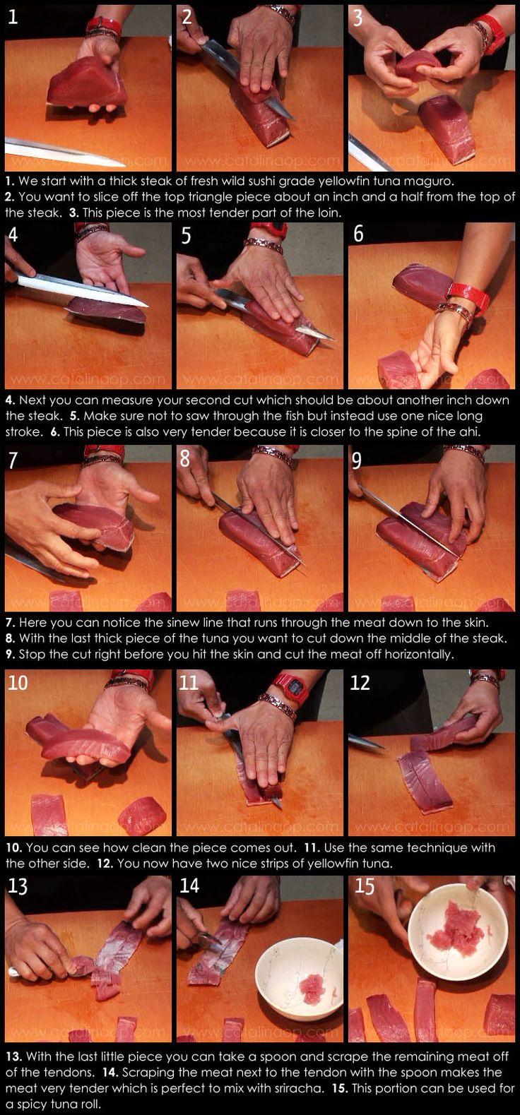 How To Prepare Sushi Grade Tuna