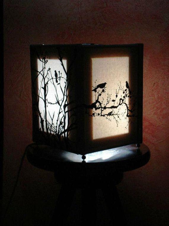 Lampada dipinta a mano handmade made in Italy di StefaniaShop