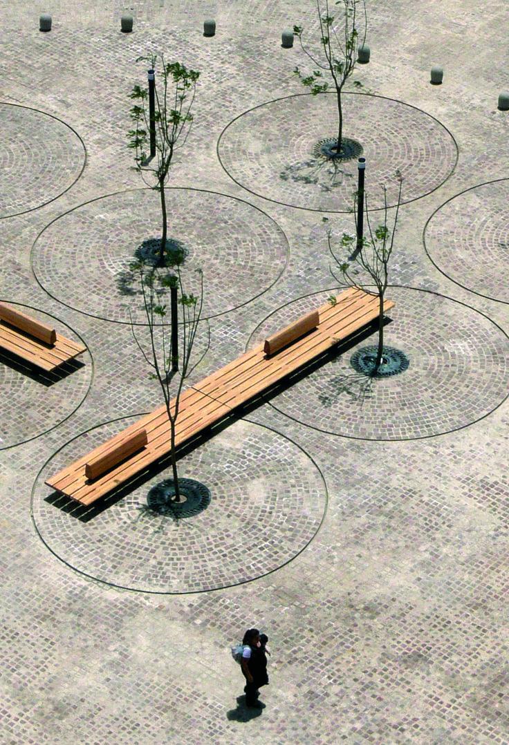 Comunitario #bench by Diana Cabeza. www.santacole.com #design #urban #city