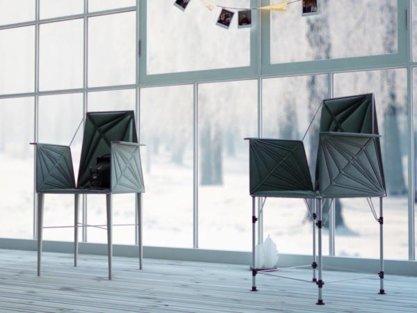 Cinema chair by Fajno , via Behance