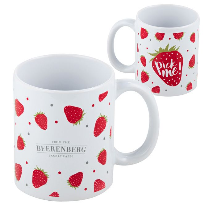 The Beerenberg PickMe! Ceramic Mug is the perfect size for your favourite beverage - hot or cold. #Beerenberg #Beverage #iChooseSA