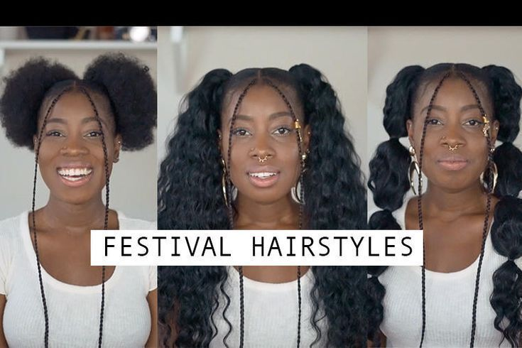 Simple #Coachella #Competition #Hairstyles #– #Locks #and #Trinke