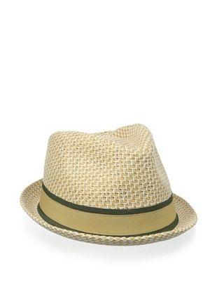 55% OFF Block Headwear Men's Straw Weave Rocky Fedora (Natural)