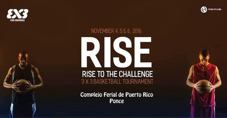 Rise 3 x 3 Basketball Challenge #sondeaquipr #rise3x3 #complejoferialpr #ponce
