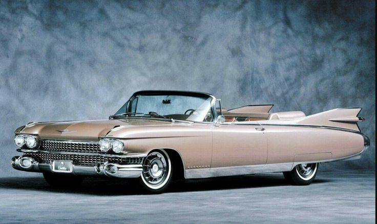 """Cadillac Eldorado (1959): """"Para los más exigentes automovilistas del mundo Cadillac presenta para 1959 un nuevo reino de majestuosa motorización""""."""