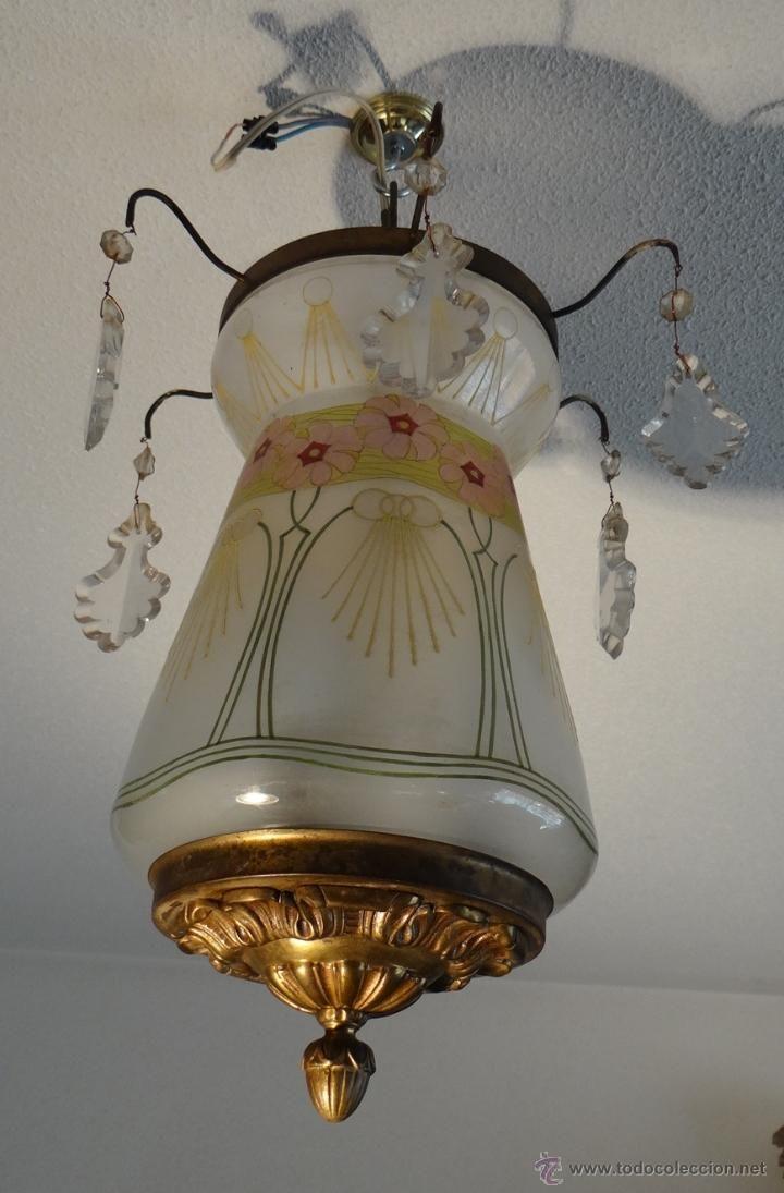 Antique Lamps Hanging