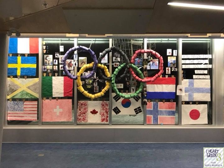 An Olympic Display That Packs a Punch!