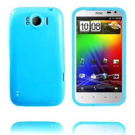 Candy Colors (Extra Vaaleansininen) HTC Sensation XL Silikonisuojus
