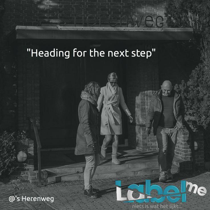 """""""Heading for the next step"""" @'s Herenweg #LabelMeFilm making_of MEER_WETEN? #LMF"""