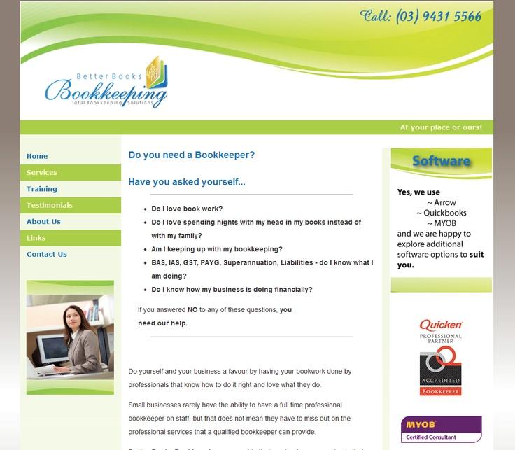 Bookkeeping Website · Dream JobFinanceAccountingCareerCarreraBeekeeping
