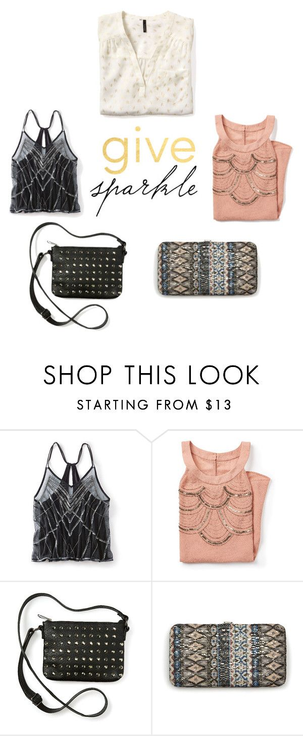 """""""Give Sparkle"""" by maurices ❤ liked on Polyvore featuring maurices"""