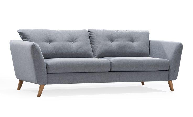 Sjövik 3-sits är en stilren och lekfullt designad soffa. Modellen är fantastiskt pris...