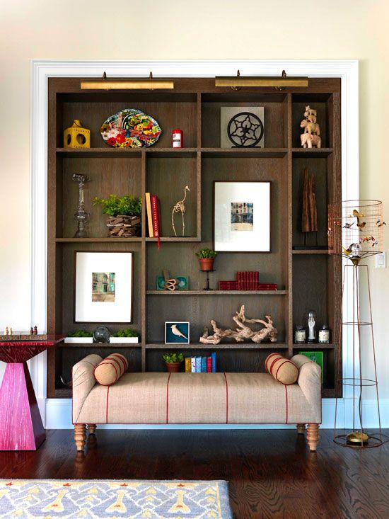 Stylish Ideas For Arranging And Organizing Bookcases