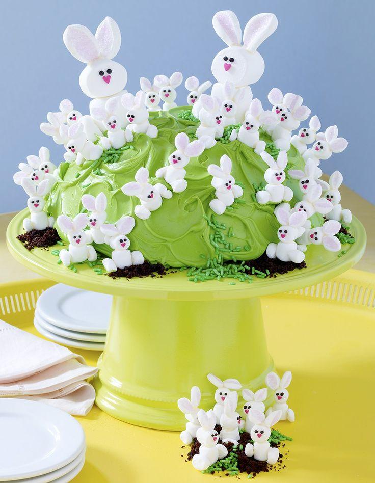Bunny Hill Cake