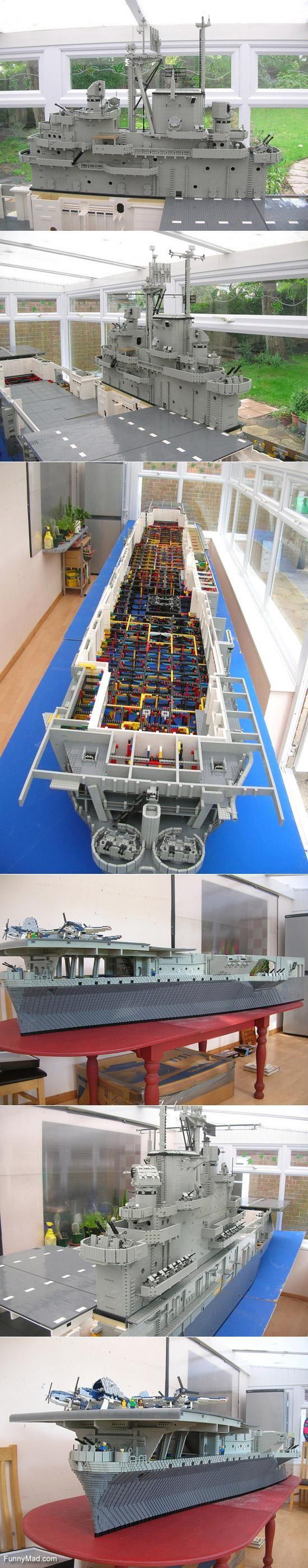 Lego Aircraft Carrier USS Intrepid (CV-11)