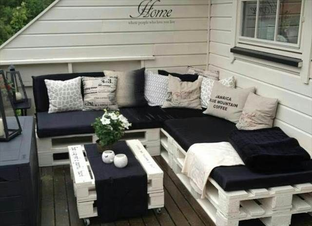 DIY Pallet Sofa Plan And Ideas | Extra Wellness