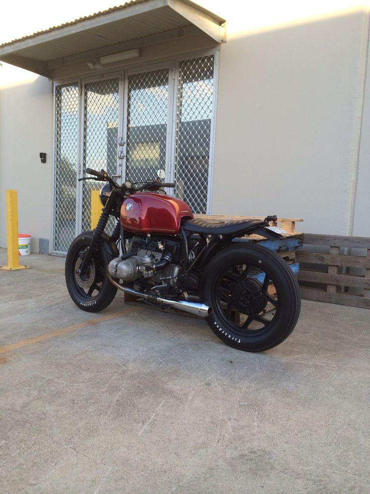 Bmw Brat Style #motorcycles #bratstyle #motos   caferacerpasion.com