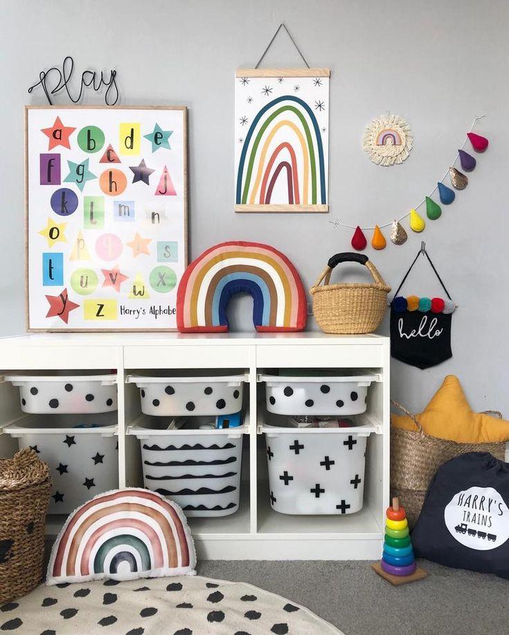 Ikea Trofast Decal Stickers, Playroom Furniture Ikea