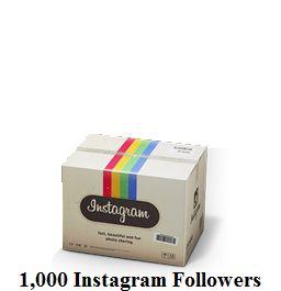 1,000 Instagram Followers
