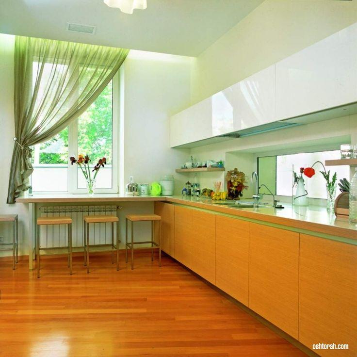 Зеленые шторы: фото с идеями для гостиной, спальни и кухни