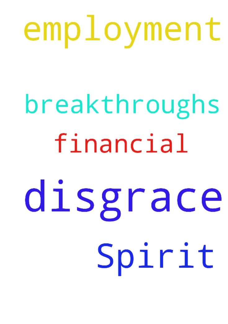 Prayer Request against Spirit of Disgrace. I need Employment - Prayer Request against Spirit of Disgrace. I need Employment and Financial Breakthroughs. And Posted at: https://prayerrequest.com/t/owt #pray #prayer #request #prayerrequest