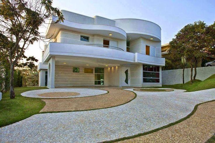 Decor Salteado - Blog de Decoração e Arquitetura : Fachadas de casas com cores claras - off white - super tendência!