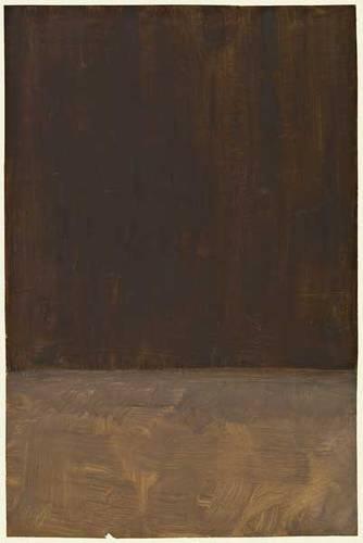 """Untitled (Brown and Gray)"" // Mark Rothko // 1969 // Tate Modern"