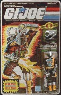 B.A.T (v1) G.I. Joe Action Figure - YoJoe Archive