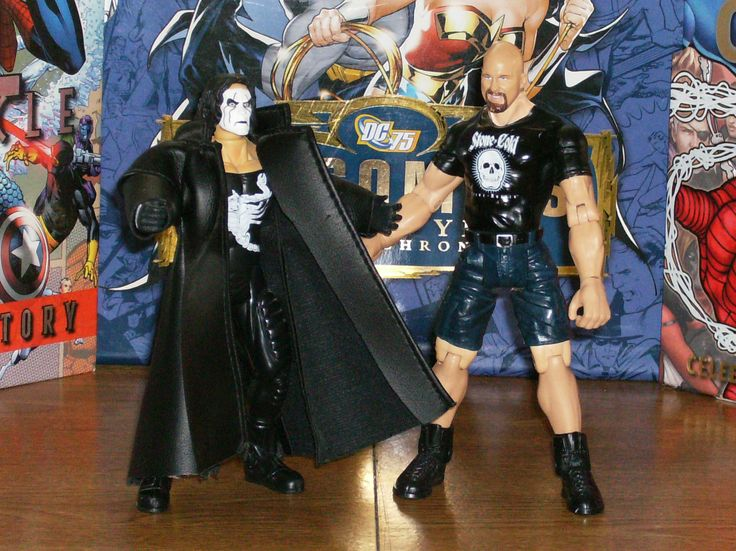 """Sting and """"Stone Cold"""" Steve Austin"""
