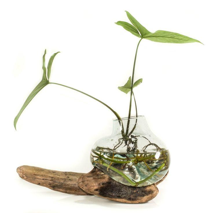 Molten Driftwood Vase