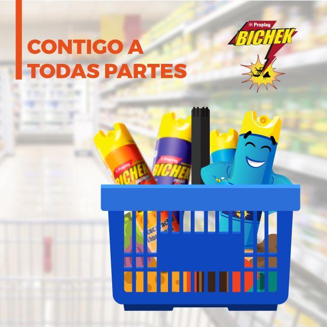 A donde vayas, Bichek® te acompaña para protegerte de cualquier plaga. #Bichek #zancudos #moscas #voladores #rastreros #pulgas #hormigas #cucarachas #insecticida #plaguicida #Colombia #co