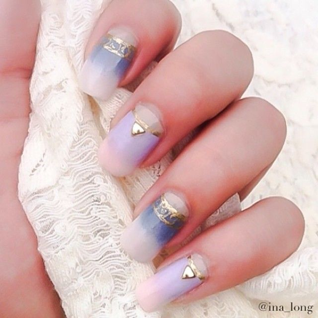 166 best our nail roomies images on pinterest youtube beauty calm colors by with our curved metal gold triangle studs japan made nail art studs japanese nail art studio prinsesfo Images