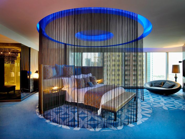 w doha The most luxurious Hotels to visit in Qatar  exquisite bedroom decoration