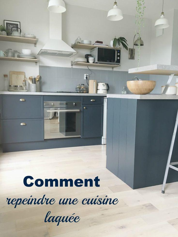 Les 25 meilleures id es concernant repeindre sa cuisine sur pinterest repei - Relooker armoire cuisine ...