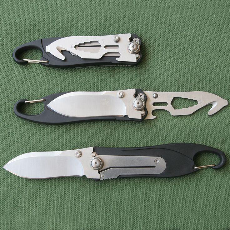 Sanrenmu 7048LUC-PH Rettungsmesser 8Cr14MoV-Stahl Rescue Feuerwehrmesser Messer in Sport, Camping & Outdoor, Werkzeug | eBay