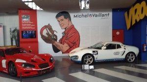 michel vaillant esposizione all'autoworld di Bruxelles| Il Massimo dei Giocattoli