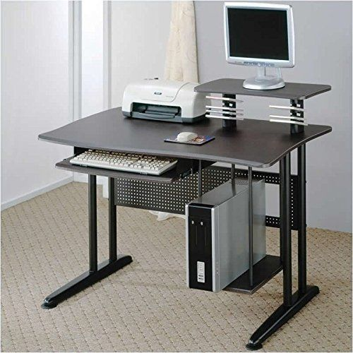 "Coaster Metal Home Office Computer Workstation Desk, Black. 47""L 27.5""W 38.5""H. Some assembly may be required. Please see product details. Home Office."
