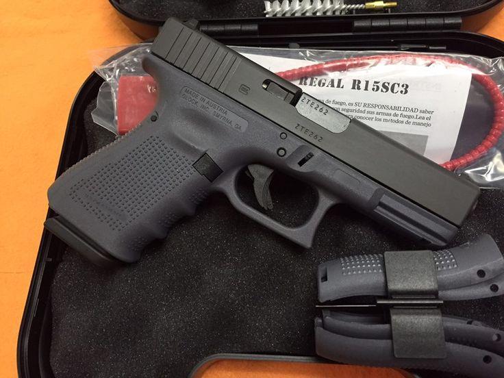New Grey Framed Glock pistols at Nagel's!    6201 San Pedro Ave San Antonio, TX 78216   (210) 342-5420   http://nagelsguns.net/   #GunShop #GunStore #GunSales #Firearms #pistol #glock #Nagels #SanAntonio #Texas