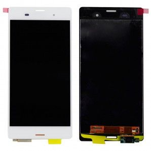 Sony Xperia Z3 LCD with Digitzer Assembly White #SonyXperiaParts