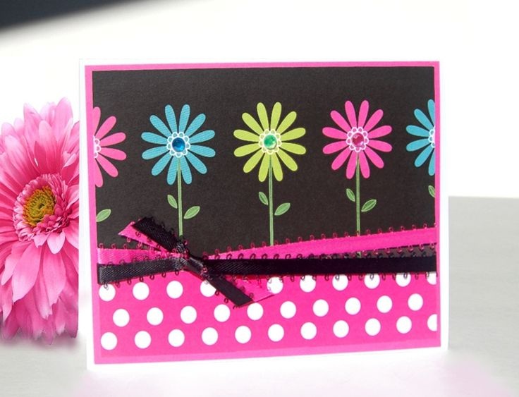 Mothers Day Cards Handmade | Handmade Mother's Day Card Love Blossoms Free by TheHumbleShop