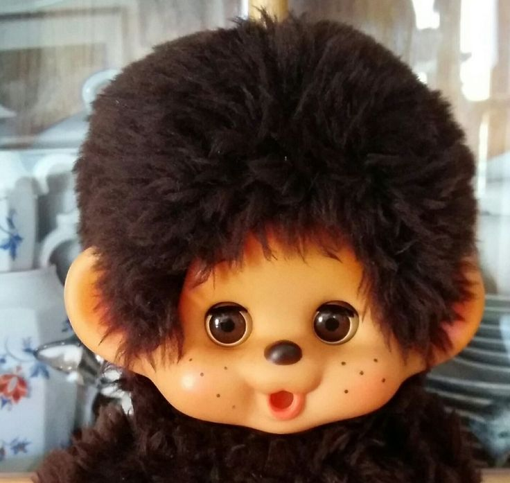 Original TOHO Monchichi Monchhichi 26 cm ++Top++