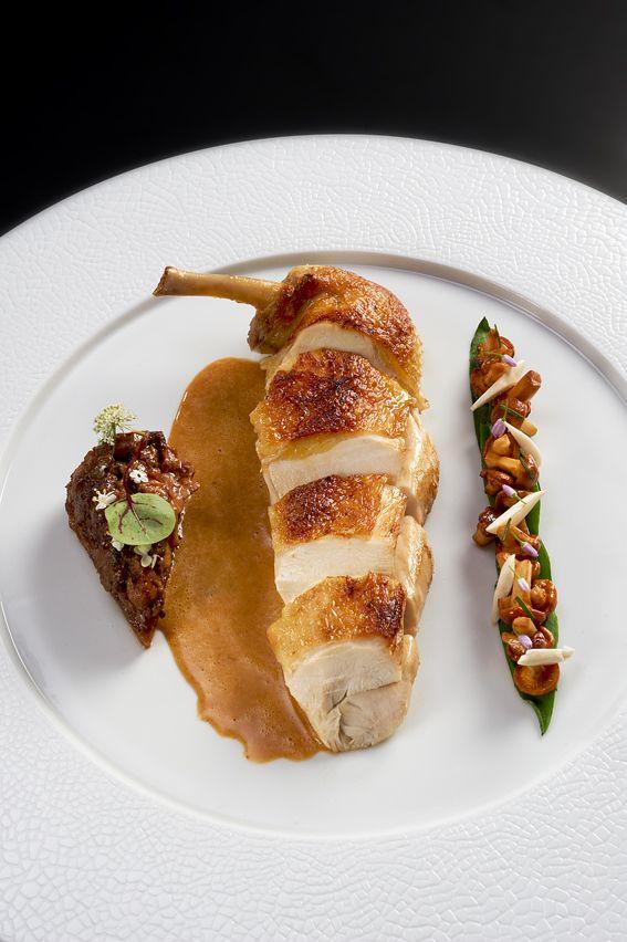 Poularde by Chef Briffard @ Le Cinq v